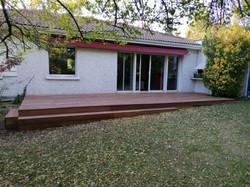 Création d'une terrasse de 30m²