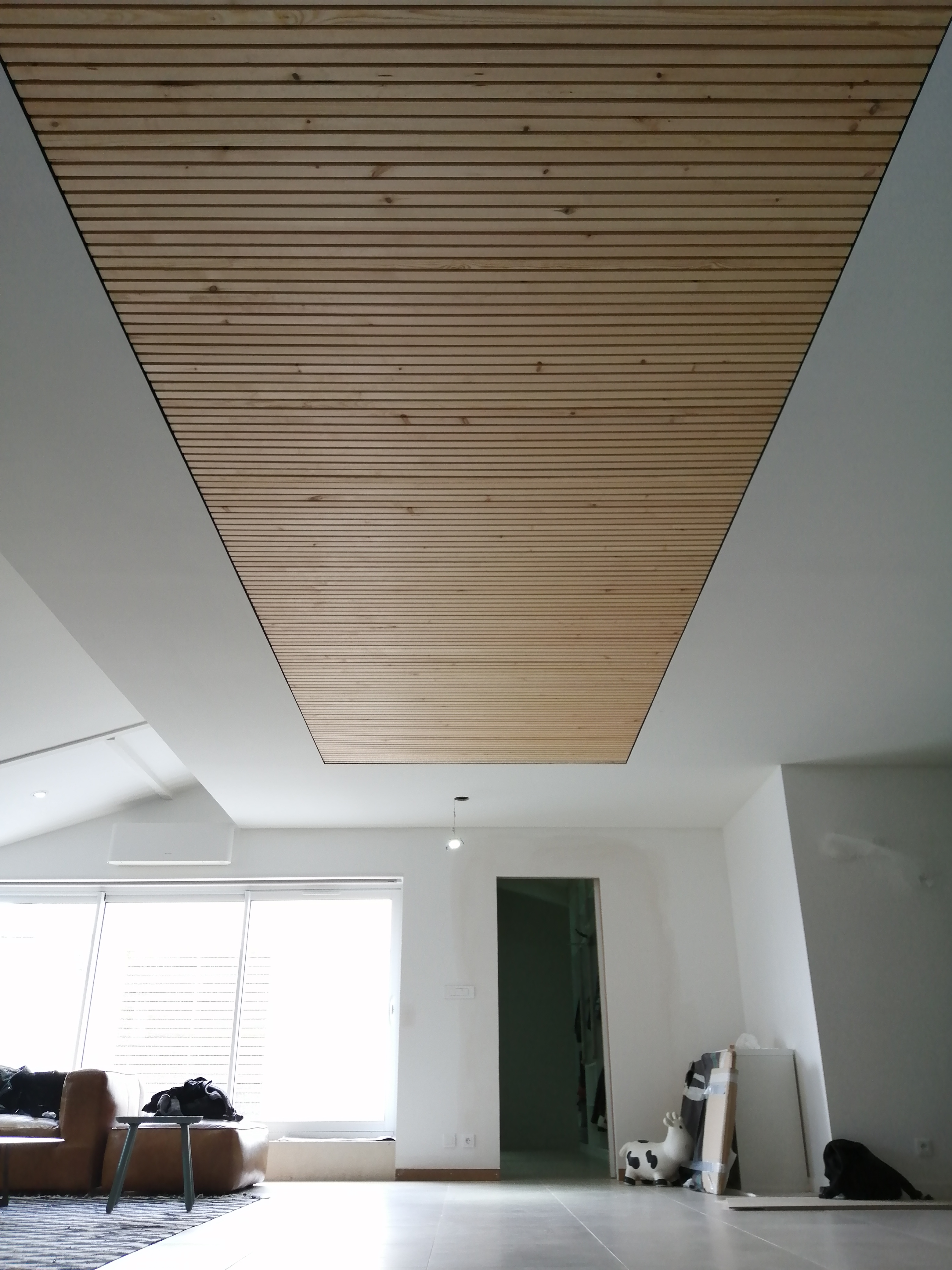 Habillage d'un plafond place Puy Paulin