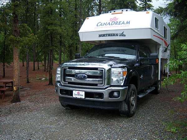 Truck Camper at Caribou RV