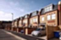 A photo of a development of 8 houses located on Grafton Road.