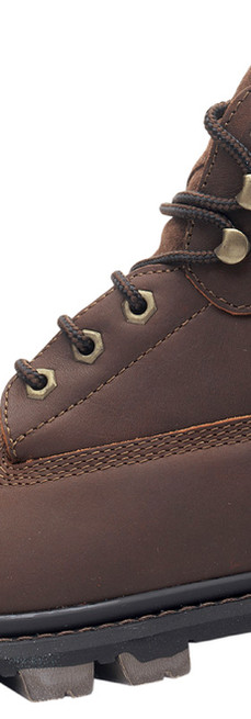 Brown Leather Hiking Boot