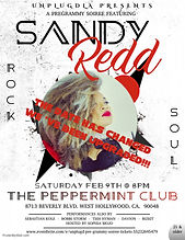 FEB 8TH LA SHOW - PEPPERMINT CLUB - Made