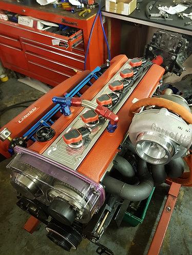 Rb25Det / NEO / rb20det Nissan Skyline Audi R8 Billet Plug Cover R3