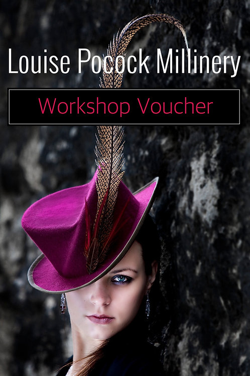 One Day Millinery Workshop Voucher Card