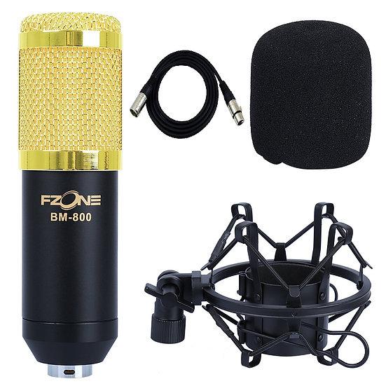 Microfone Estúdio Bm-800
