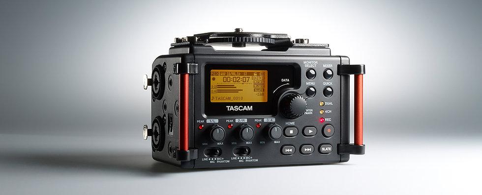 Gravação Para Camara Tascam Dr-60Dmk2
