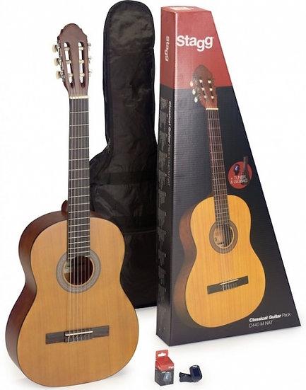 Pack Guitarra Classica Stagg C440 M Nat Pack