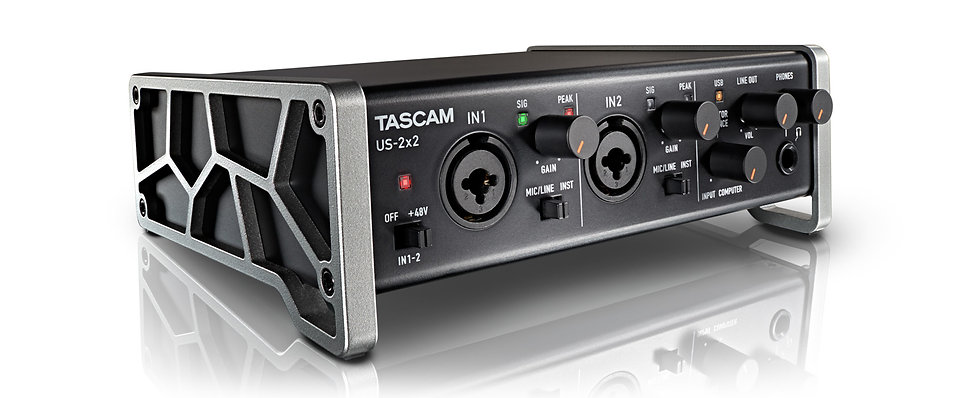 Interface Audio Tascam Us-2X2