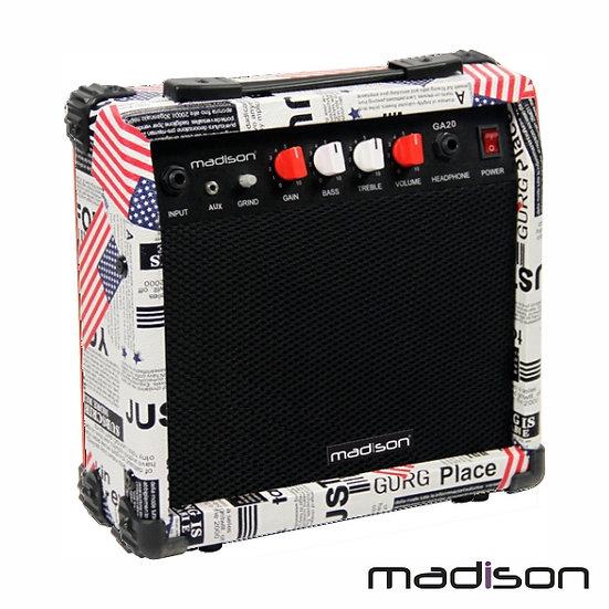 "Coluna Amplificada P/Guitarra 6.5"" 20W MadisonMADISON-GA20-USA"