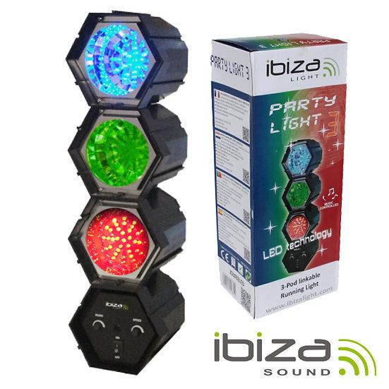 Projetor Luz C/ 3 Módulos 47 LEDS IBIZA JDL032LED