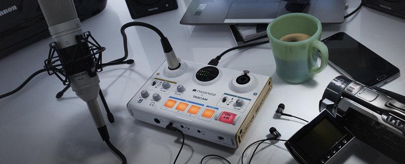 Interface Audio Tascam Us-42