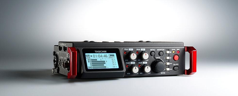 Gravação Para Camara Tascam Dr-70D