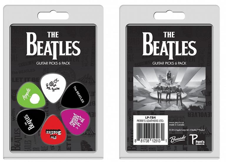 Pack 6 Palhetas The Beatles