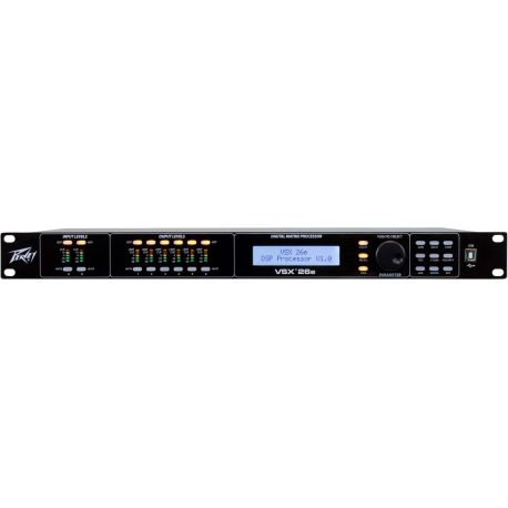 Processador Digital Audiopeavey Vsx® 26E