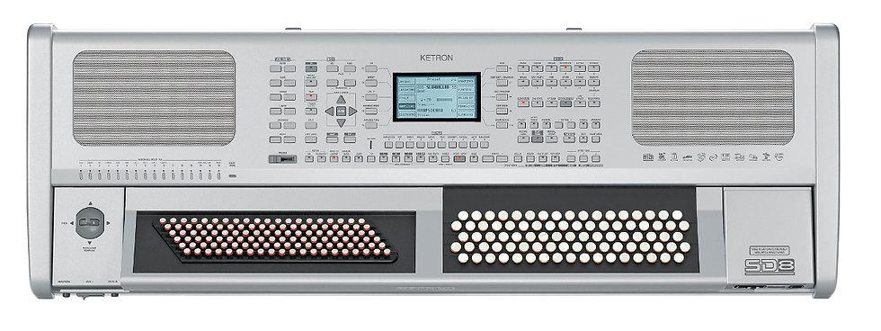 Ketron Orgão De Botões Sd8