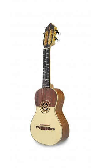 Apc Guitarlele Gc Cw Clássico Koa Eletrificado Cutaway