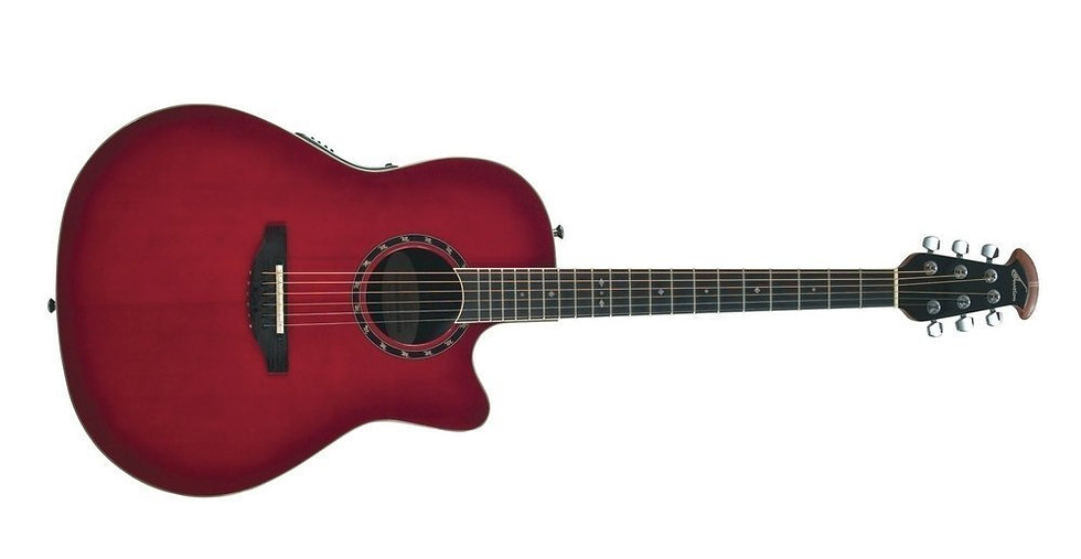 Guitarra Electro-Acústica Standard Balladeer Deep Contour Cutaway  Ovation