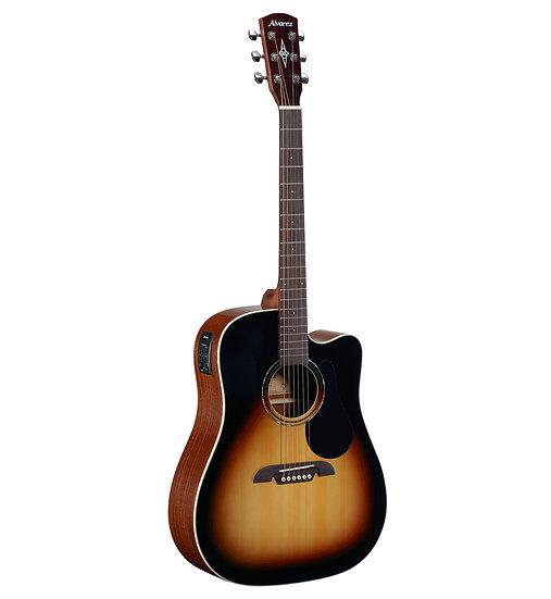 Guitarra Eletro-Acúscita Alvarez - -Rd26Cesb
