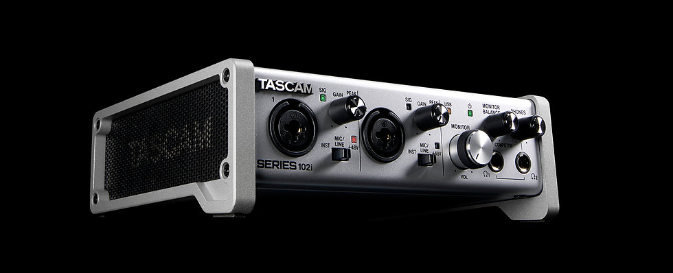 Interface Audio Tascam Series 102I