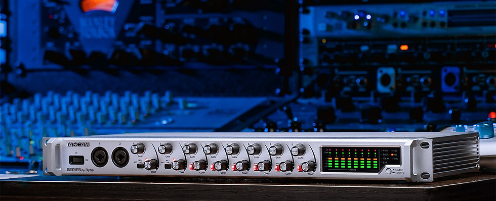 Interface Audio Tascam Series-8P-Dyna