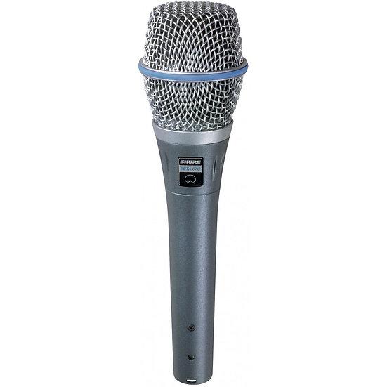 Microfone Shure Beta 87C