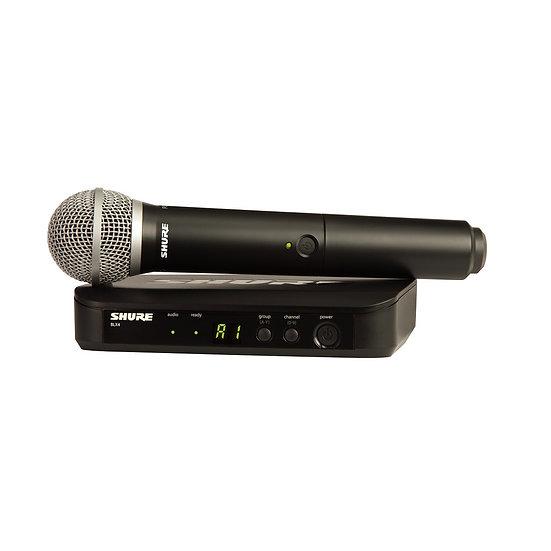 Microfone Shure Sem Fioblx24E/Pg58 H8E