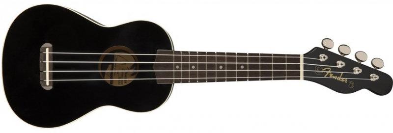 Ukulele Soprano Fender Venice-Black