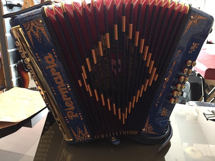 Concertina Usada Piermaria Azul 4V Dir