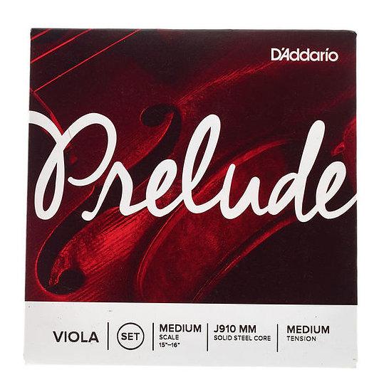 Jogo De Cordas Para Viola Daddario J910-Mm Prelude Viola
