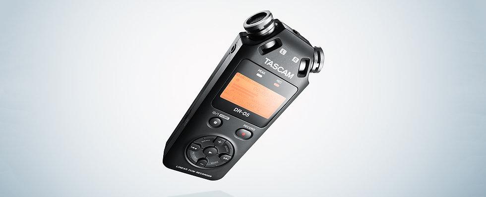 Gravação Para Camara Tascam Dr-05X