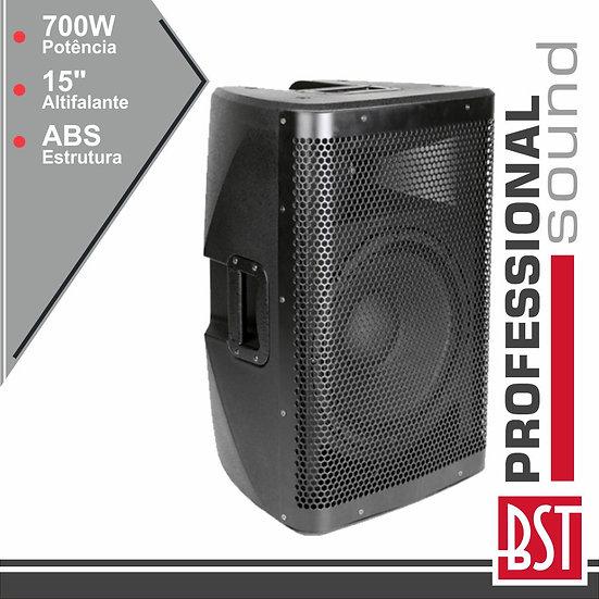"""Coluna Amplificada Pro 15"""" 700Wmáx Abs BSTX15A"""