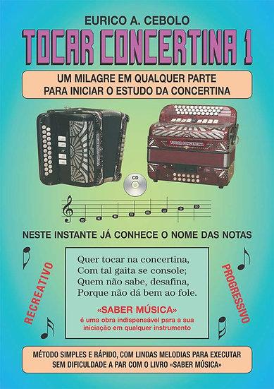 Livro Tocar Concertina 1 Com Cd