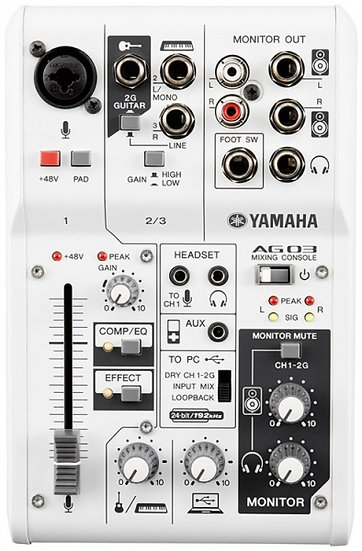 Mesa Mistura/Interface Usb Yamaha Ag03