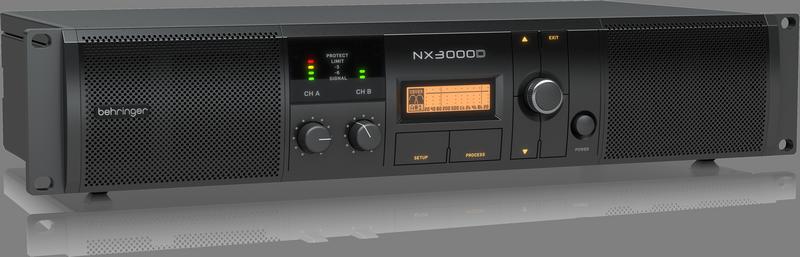 Amplificador Behringer Nx3000D