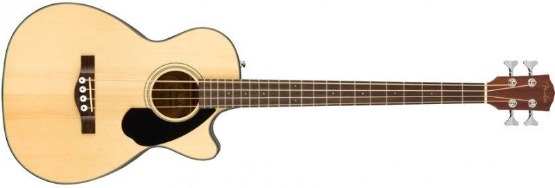 Baixo Electro-Acústico Fender CB-60SCE NAT