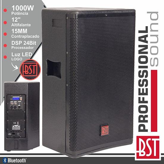 """Coluna Amplificada Pro 12"""" 1000W 4 Modos BT BSTFIRST-SA12DSP2"""