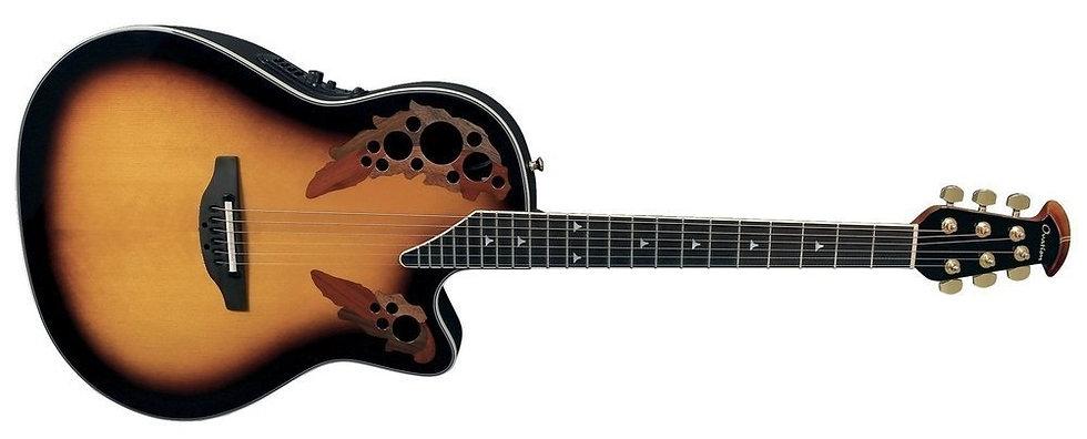 Guitarra Electro-Acústica Elite Deep Contour Cutaway  Ovation