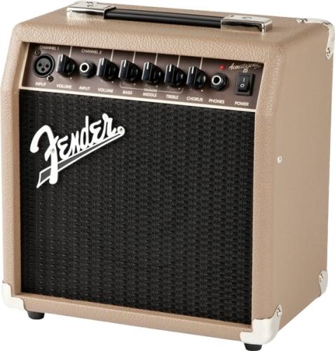 Combo Guitarra Acústica Fender - Acoustasonic 15