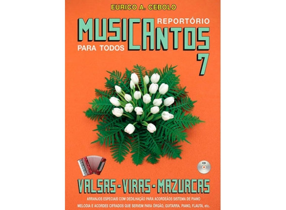 Livro musicantos 7 c cd valsas
