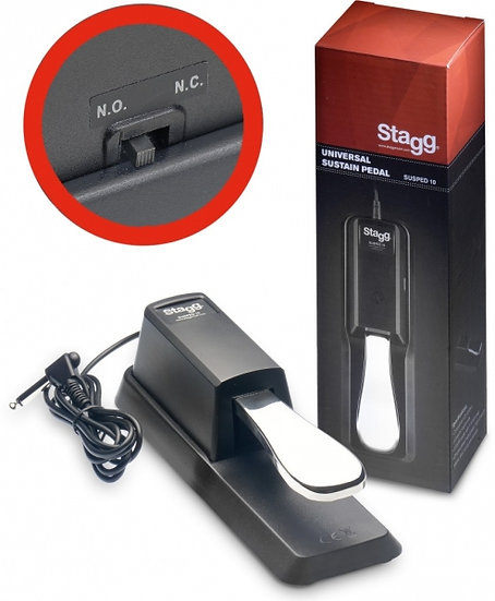 Pedal Sustain Stagg - Susped 10