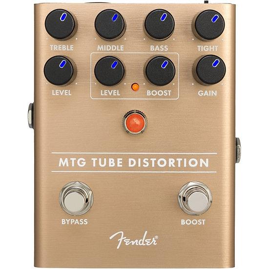 Pedal Efeitos Distorção Fender MTG Tube Distortion Pedal