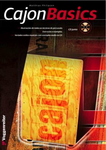 Livro Cajon Basics (Pt) - Oferta Cd