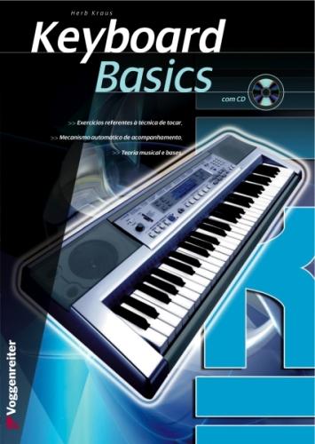 Livro Keyboard Basics (Pt) - Oferta Cd