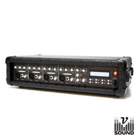 Amplificador Áudio Profissional 200Wmáx VSOUND  XTREME POWER 200A