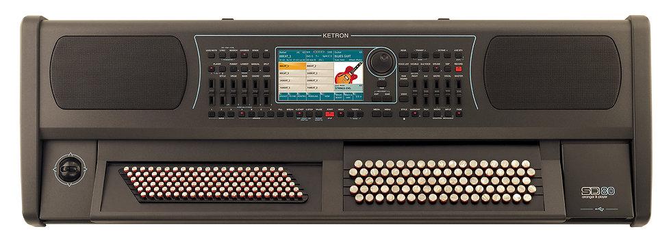 Ketron Orgão De Botões Sd80