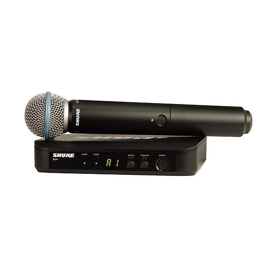 Microfone Shure Sem Fioblx24E/B58 H8E