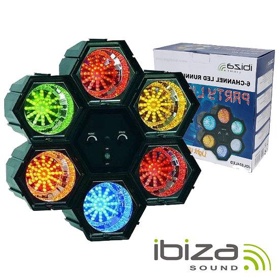 Projetor Luz C/ 6 Módulos 47 LEDS IBIZA JDL034LED