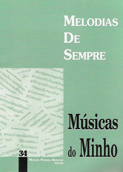Melodias De Sempre - Vol 34 (Músicas Do Minho)