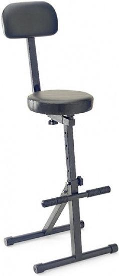 Cadeira Guitarrista Mt-300 Bk Ou Tecnico De Som/Luz