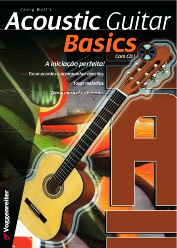 Livro Acoustic Guitar Basics (Pt) - Oferta Cd